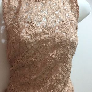 Lace crop top from Valley Girl size Medium